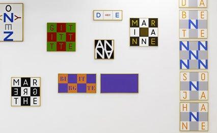 Udstillingsvue fra Alfabeter - eller næsten. Foto: Anders Sune Berg