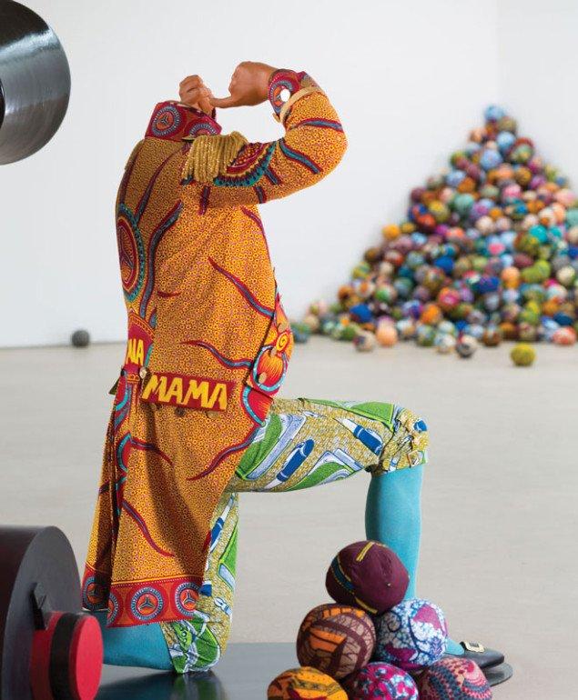 Cannonball Heaven, 2011, Yinka Shonibare, MBE . (® Jonty Wilde, Yorkshire Sculpture Park, 2013)