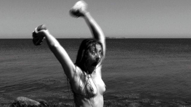 Katja Bjørn: Cave Woman, 2012. Videostill. Pressefoto