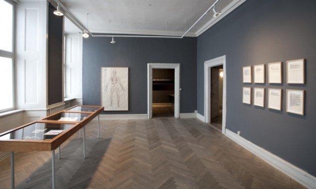 Installationsview fra udstillingen  Modsmerte  Museet for Samtidskunst, 2012. Foto: Maria Laub