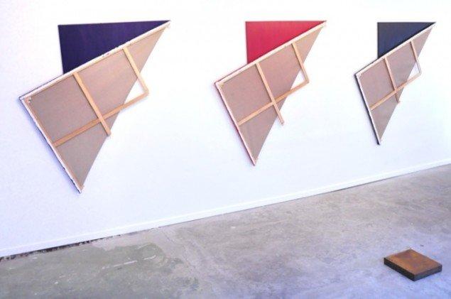 Asger Dybvad Larsen: Titel, Lunchmoney Gallery 2013. Foto: Lunchmoney Gallery