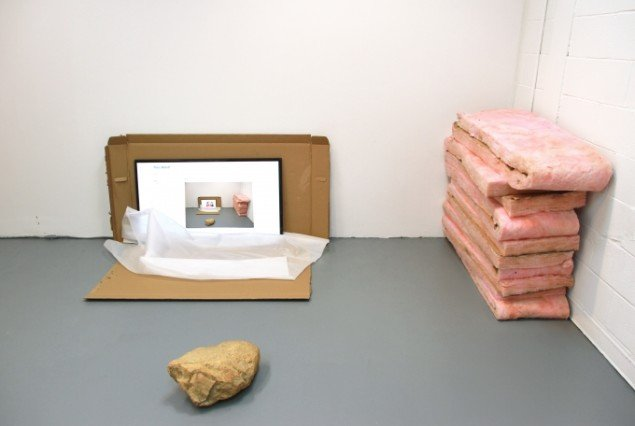 Attachments  2012, Raid Projects L.A, installationsview. Foto: Theis Wendt