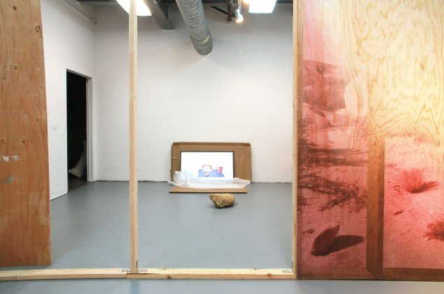 Attachments  2012. Raid Projects L.A, installationsview. Foto: Theis Wendt
