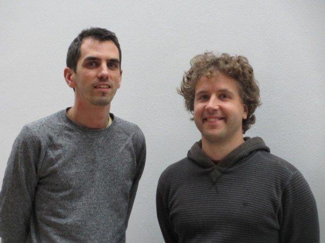 Alex McLean (tv.) og Dave Griffiths (th.) Foto: Kirstine Bruun