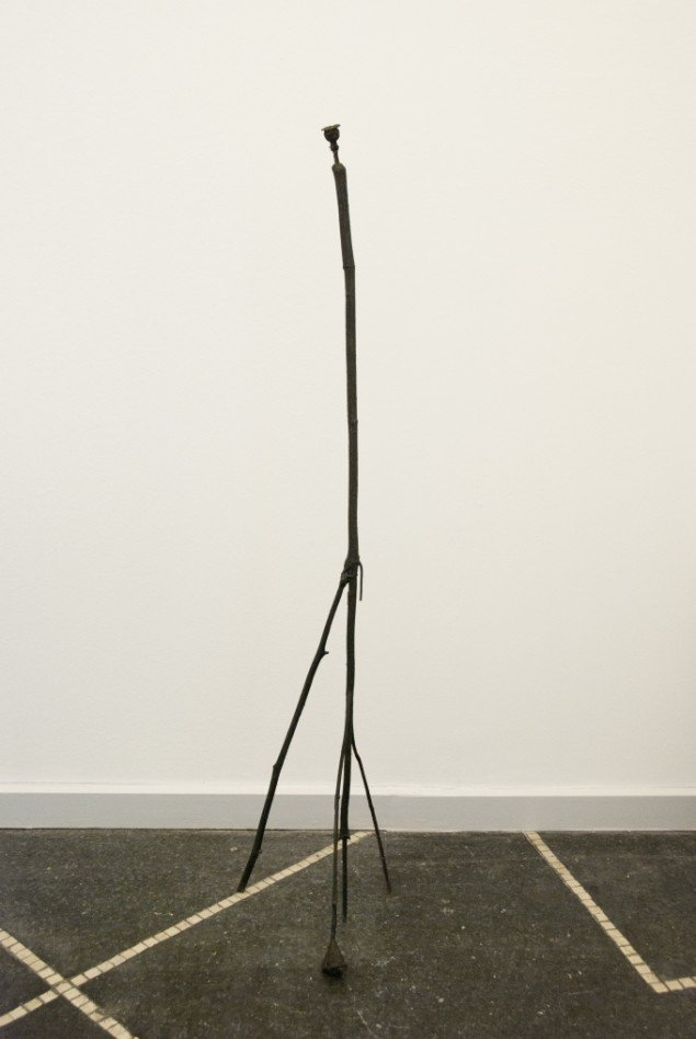 Emil Westman Hertz Blodmeridian, 2012. Bronze, 101,5x17,5x19 cm. Foto: Galleri Susanne Ottesen