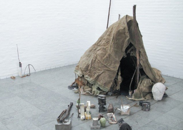 Emil Westman Hertz Telt, 2012-13. Installationsview fra Holstebro Kunstmuseum, 2013. Foto: Pressefoto