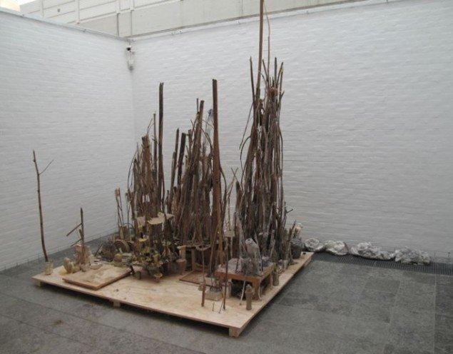 Emil Westman Hertz Sømandens Grav, 2012-13. Installationsview fra Holstebro Kunstmuseum. Foto: Pressefoto