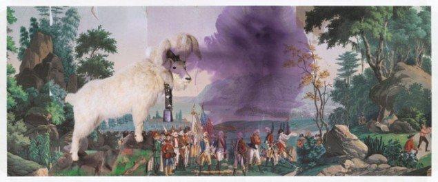 Julian Schnabel: Fountain of youth, 2012. (Pressefoto)