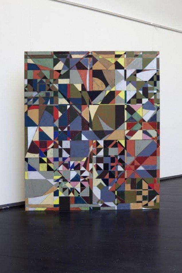 Devils Puzzle, 2011, acrylic on canvas, 250 x 210 cm. Foto: Anders Sune Berg