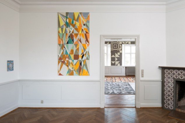 Installationview, Lucky Pieces, 2013: Foto Anders Sune Berg