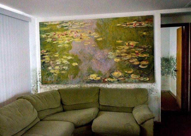Great Art in Ugly Rooms, Claude Monet. (fra bloggen)