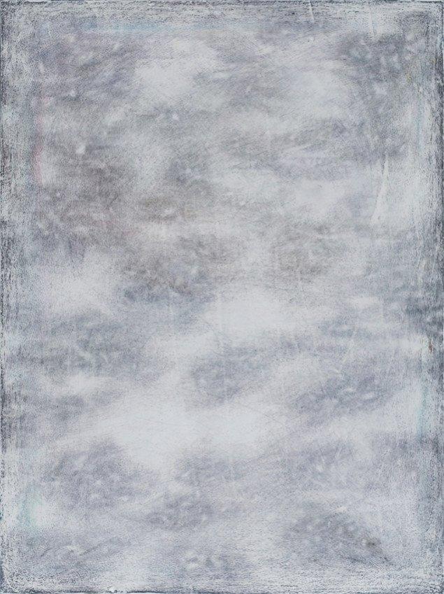 Silas Inoue: Scrub, 2013. Akryl på MDF, 78 x 58 cm. På Wellness, Marie Kirkegaard Gallery 2013. Pressefoto