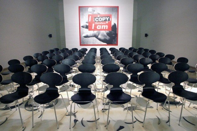 I COPY Therefore I am, 2011. (Foto: Carsten Nordholt)
