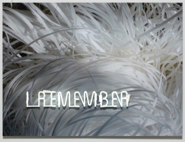 Anita Jørgensen I REMEMBER 2010. Lambda print på aluminium, 100x120x7 cm. Foto: Anders Sune Berg.