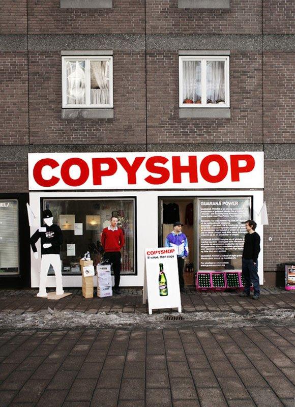 Copyshop, København (Foto: Superflex)
