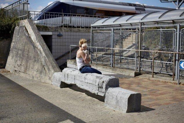 Esben Klemann Bænk,Vejen Station. Foto: Pressefoto
