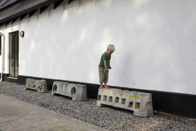 Esben Klemann Hoffmann klodser, Rødding Højskole. Foto: Pressefoto