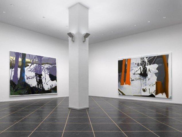 Installationsview fra soloudstilling, Galleri Susanne Ottesen, 2009. Foto: Anders Sune Berg