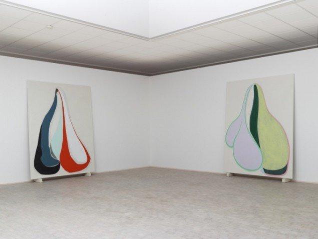 Installationsview fra By Proxy, soloudstilling på Horsens Kunstmuseum 2013-2014. Foto: Anders Sune Berg