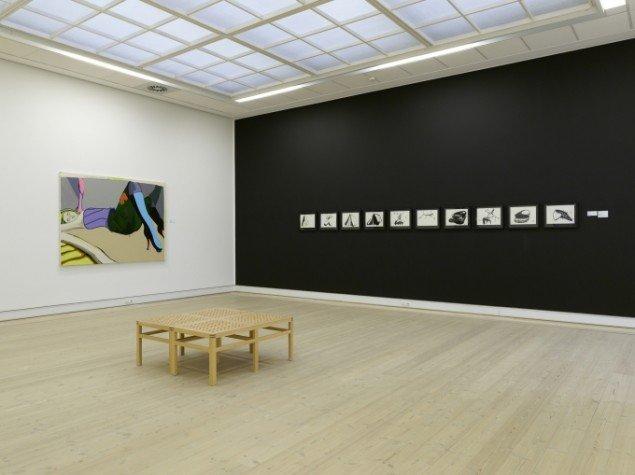 Installationsview fra soloudsstilling, Horsens Kunstmuseum 2008. Foto: Anders Sune Berg