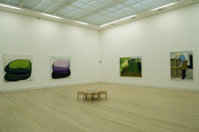 Installationsview fra soloudstilling, Horsens Kunstmuseum 2008. Foto: Anders Sune Berg