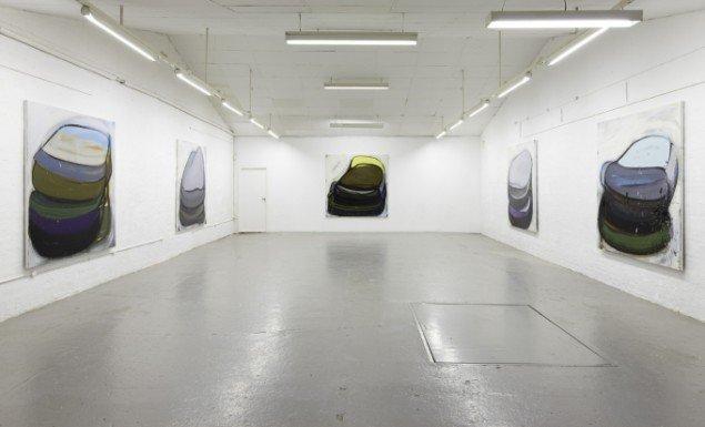 Installationsview fra soloudstililng, Ringsted Galleriet, 2009. Foto: Anders Sune Berg