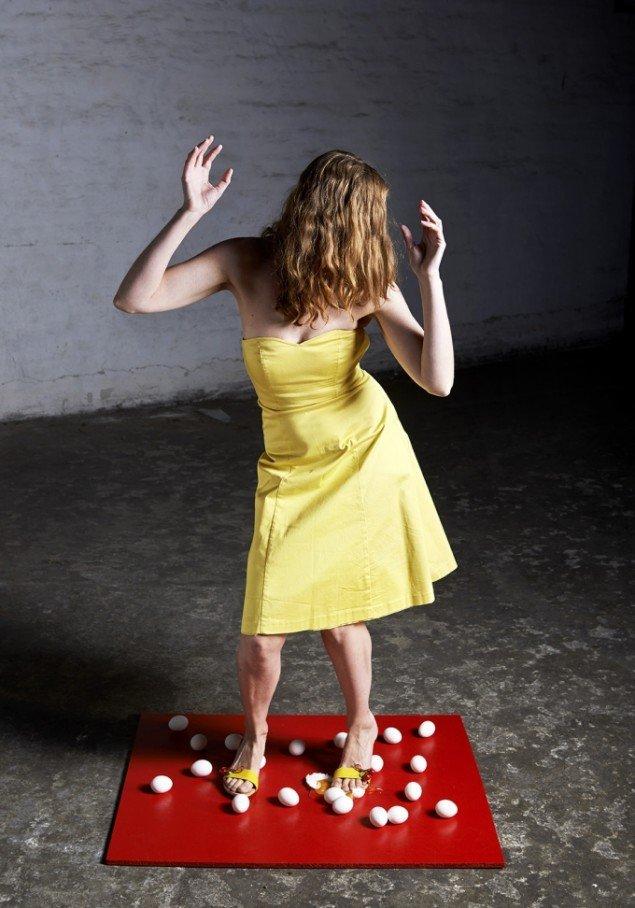 Fra Crazy Cabaret - spejlæg. Foto Kirstine Mengel