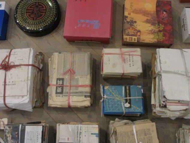 Forskellige former for tryksager og papir. Foto: Kirstine Bruun