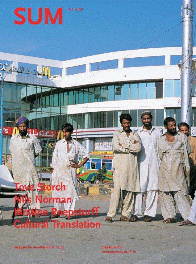 Cover SUM #2: Redistribution - 2003 af Jens Haaning. Foto: ICA og Jens Haaning