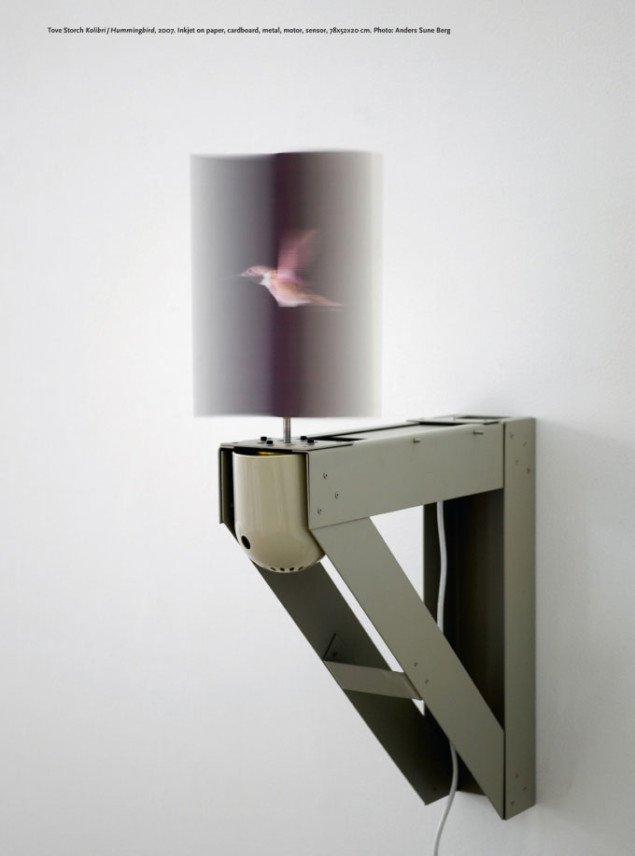 Illustration fra SUM #2: Kolibri - 2007 af Tove Storch. Foto: Anders Sune Berg