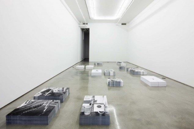 Jakob Kolding Blocks. Installationsview Team Gallery 2011. Courtesy Team Gallery
