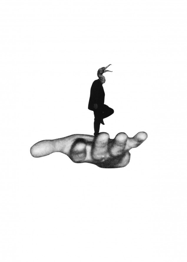 Jakob Kolding Uden titel (Zuidas) 2010. Offset plakat 84x59,4 cm. Courtesy Team Gallery