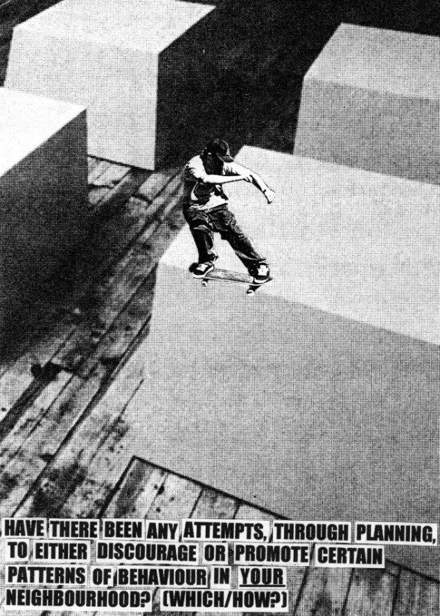 Jakob Kolding Uden titel 2001. Offset plakat 84x59,4 cm. Courtesy Galleri Nicolai Wallner