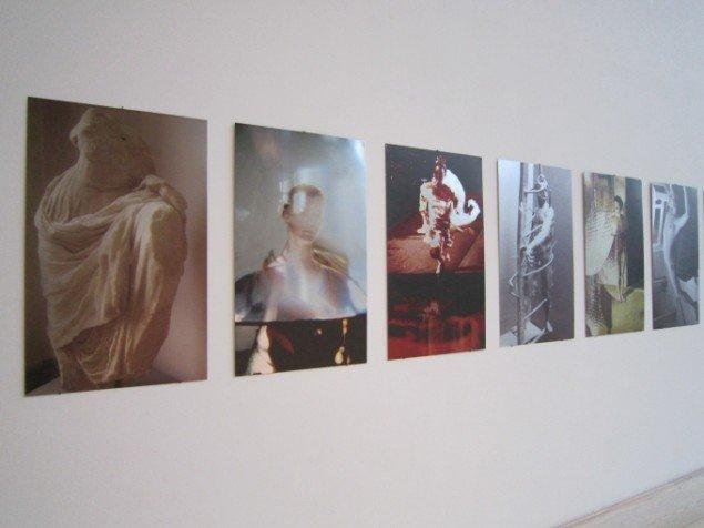 Jytte Rex' Tavler fra 2013. Installationsview. Foto: Pressefoto