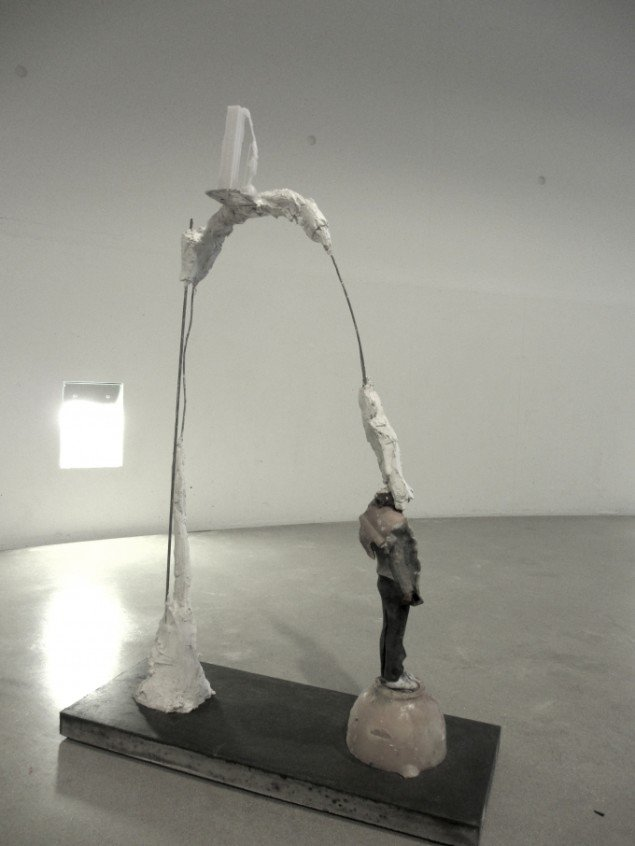 Morten Modin: Once I Did It For You Now I Do It For Me / Cartesian Sculpture. Foto: Ole Bak Jakobsen