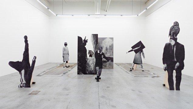 Udstillingen Balancing Acts 2013. Installationsview fra Galleri Nicolai Wallner. Foto: Anders Sune Berg