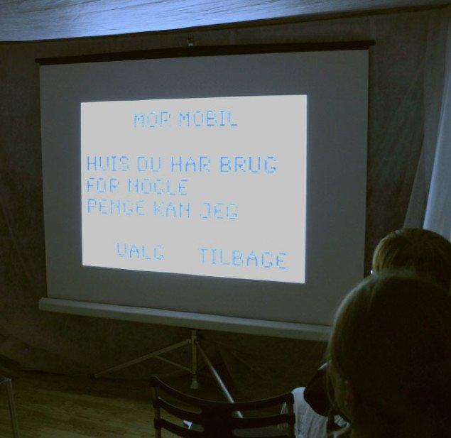 Julian Juhlin: Indbakke. Foto: Maja Egelund