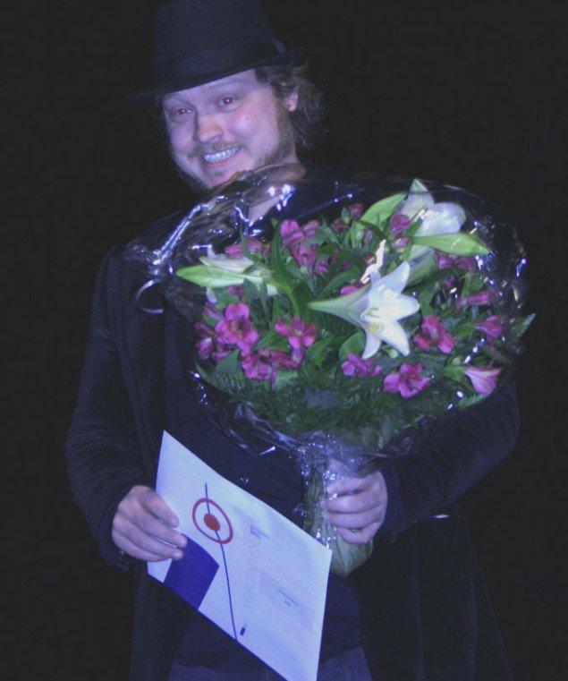 En glad Søren Bendt 20.000 kr. rigere. Foto: Maja Egelund