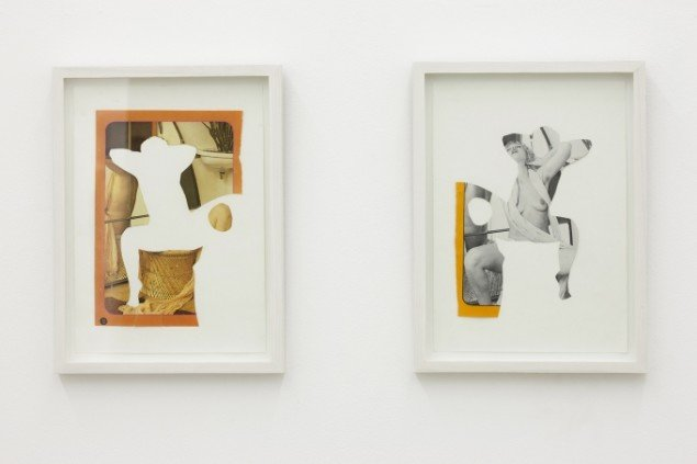 Tina Maria Nielsen: Space of Femininity, 2009. Collage. På Galleri Thomas Wallner 2014. Pressefoto