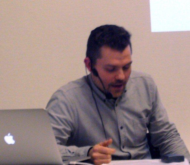 Nathan Budzinski, onlineredaktør ved The Wire Magazine. (Foto: Matthias Hvass Borello)