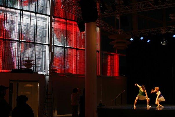 Tobias Ebsen: Running Sculptures. Foto: Jette Gejl Kristensen