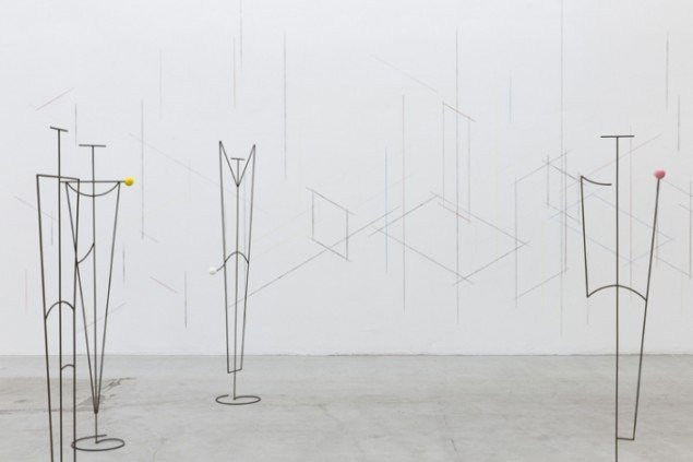 Luca Frei: Family, 2014. Skulptur. På Family, IMO 2014. Foto: Kristoffer Juel Poulsen