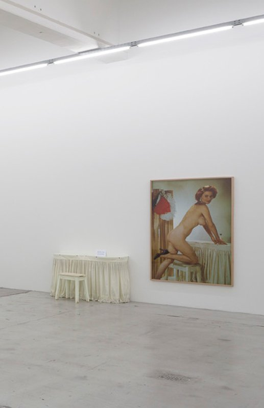 Jonathan Monk: Left Foot, installationsview, Galleri Nicolai Wallner. (Foto: Anders Sune Berg)