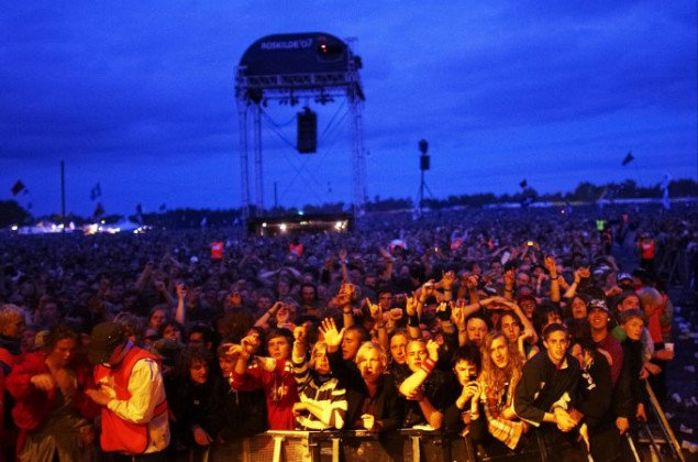 Publikum, Roskilde Festival. Pressefoto