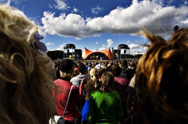 Orange Scene, Roskilde Festival. Pressefoto