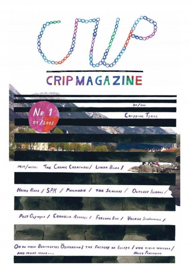 Forsiden af  Crip Magazine . Foto: Eva Egermann