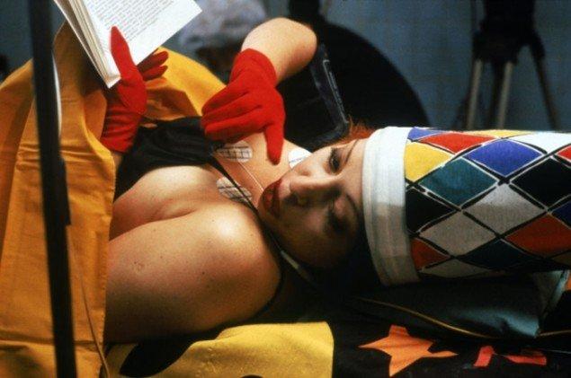Den franske body-artist Orlan under Aesthetic Transactions, 2012. (pressfoto)
