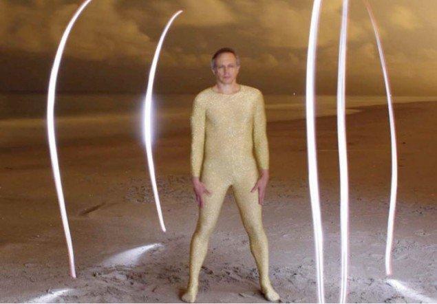 Richard Shusterman – nu som L' Homme en or' (Guldmanden).