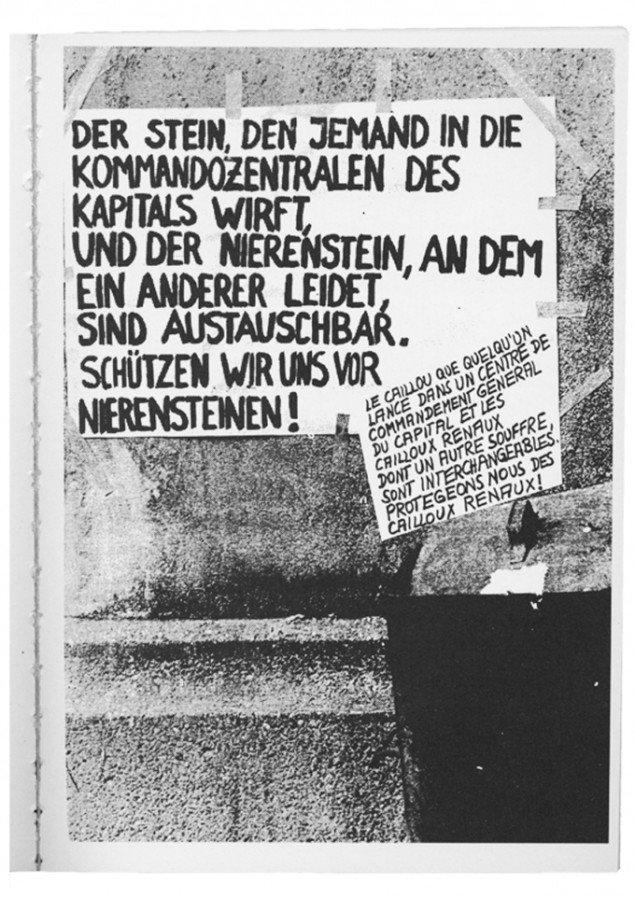 Poster Socialist Patient Collective, detalje fra Crip Magazine, Eva Egermann
