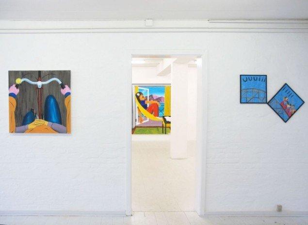 Installationsview. Foto: Charlotte Fogh Gallery